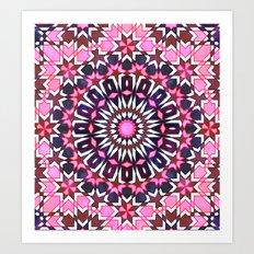 FEZ Moroccan Tiles {4H} Art Print