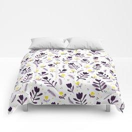 tiptoe through the tulips ... Comforters