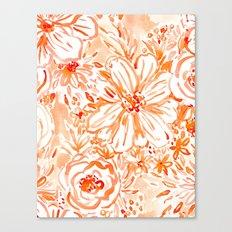 BIG SUNSHINE Floral Canvas Print