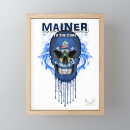 To The Core Collection: Maine Framed Mini Art Print