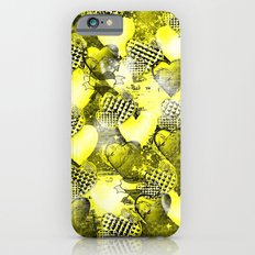Light Bulb Hearts Series (yellow) iPhone 6s Slim Case