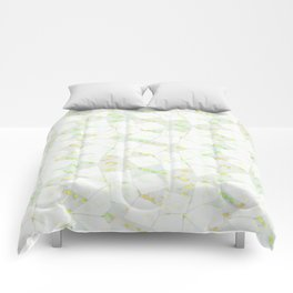 Ghost Town (Citrine) Comforters
