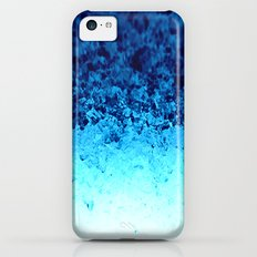 Blue Crystal Ombre iPhone 5c Slim Case