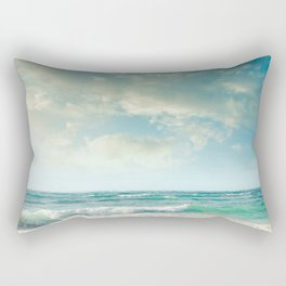 beach love tropical island paradise Rectangular Pillow
