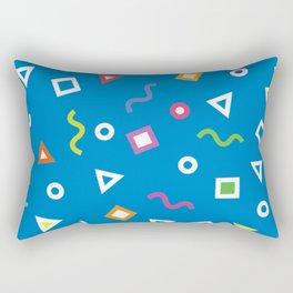Cobalt Play Rectangular Pillow