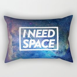 I need space Rectangular Pillow