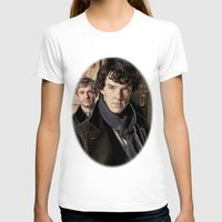 sherlock T-shirts featuring Sherlock  by SB Art Productions