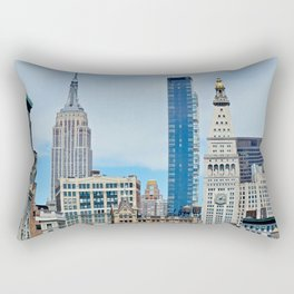 Heights and Sights NYC Rectangular Pillow