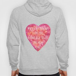 Valentine's Day Love quote Hoody