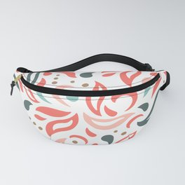 Coral Fest Fanny Pack