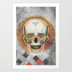 Another Skull Art Print