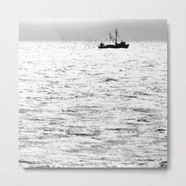 """Fishing Boat 5"" by Murray Bolesta Metal Print"