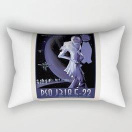 PSO J318.5-22 - NASA Space Travel Poster Rectangular Pillow