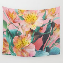 Spring Bouquet Wall Tapestry