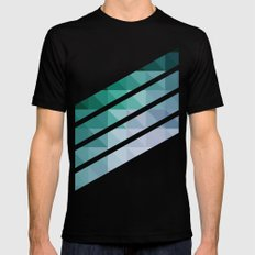 Triangular studies 03. Mens Fitted Tee Black LARGE