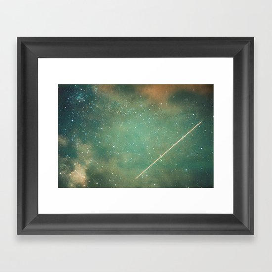 Perseid Framed Art Print