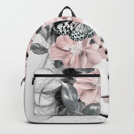 WOMAN WITH FLOWERS 10 Backpack