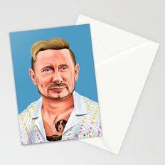 Hipstory -  vladimir putin Stationery Cards