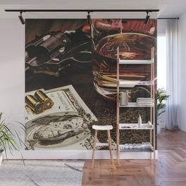 Wild West Wall Mural