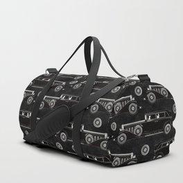 Retro car pattern Duffle Bag
