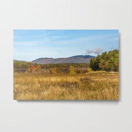 Cloud over the Mountain's Metal Print