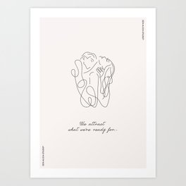 Attraction Art Print