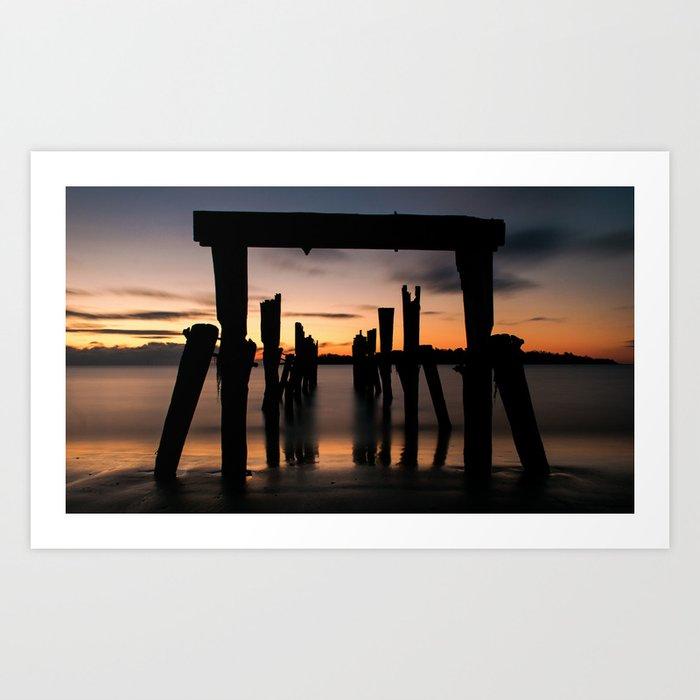Passage Sunset Art Print