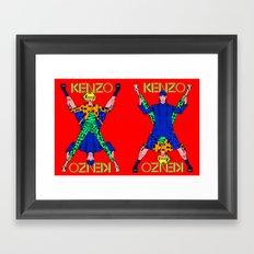 Kenzo Pop Art Framed Art Print