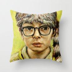 Sam - Moonrise Kingdom - Jared Gilman Throw Pillow