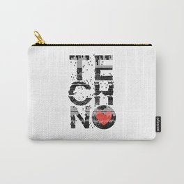 Love Techno Music Carry-All Pouch