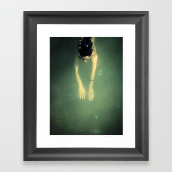 underwater I Framed Art Print