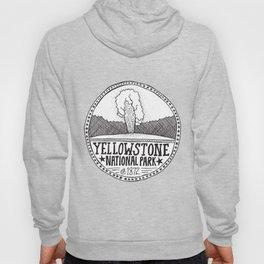 Yellowstone - Old Faithful Illustration Hoody