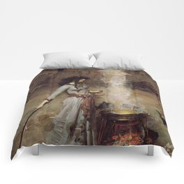 The Magic Circle, John William Waterhouse Comforters