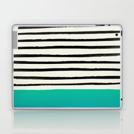 Mermaid & Stripes Laptop & iPad Skin