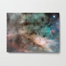 Swan Nebula Metal Print