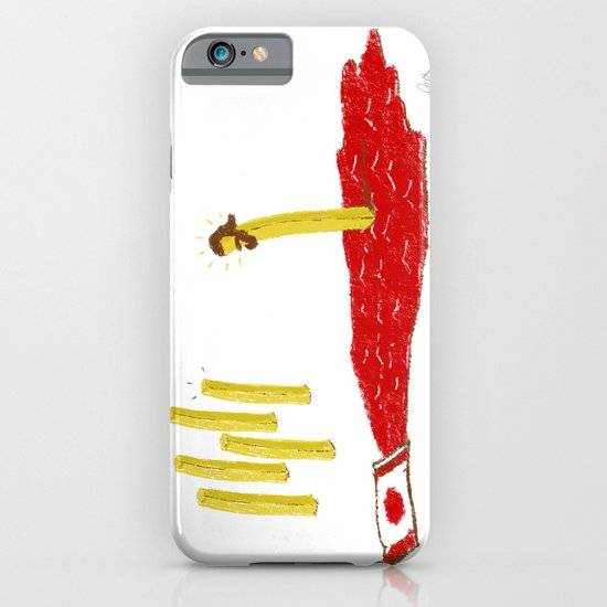 Lord of the Fries iPhone & iPod Case