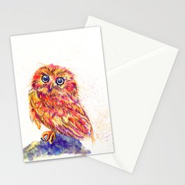 Caffeinated Owl Stationery Cards
