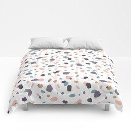 Pastel Terrazzo Comforters