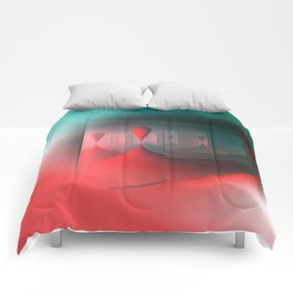 colors and mirrors Comforters