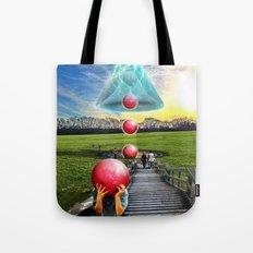 Interspatial Field Tote Bag