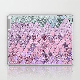 Mermaid Scales with Unicorn Girls Glitter #4 #shiny #pastel #decor #art #society6 Laptop & iPad Skin