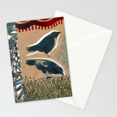 Birds on a Summer day. Stationery Cards