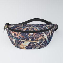 Patterned Pine No:1 Fanny Pack