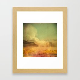 I dreamed a storm of colors Framed Art Print