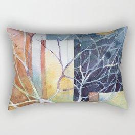 Le torri e la luna Rectangular Pillow