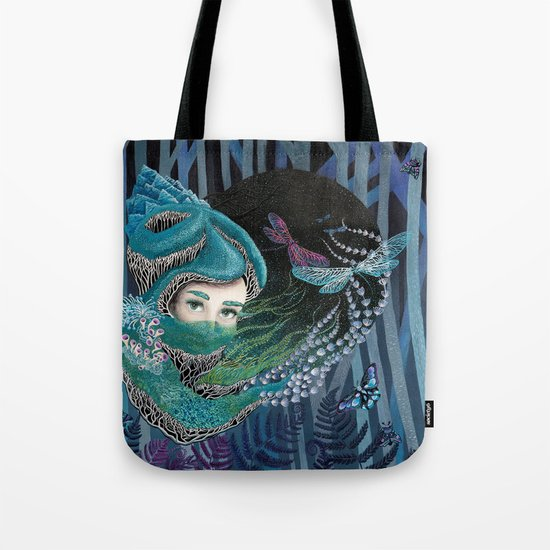 Forest eyes Tote Bag