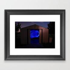 Light Shed Framed Art Print