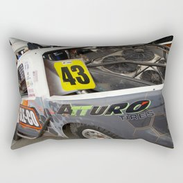 Ready for Action Rectangular Pillow