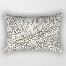 Nashville Map Rectangular Pillow