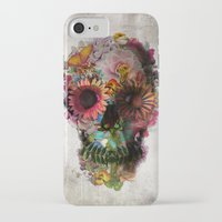 fashion iPhone & iPod Cases featuring SKULL 2 by Ali GULEC